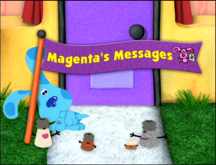 Magenta S Messages Blue S Clues Wiki Fandom Powered By