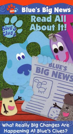 Blue'sBigNewsReadAllAboutItVHS