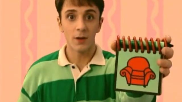 Video - Blue's Clues - 2x05 - What Does Blue Want To Make ...