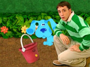 Blue's Clues Pail with Blue and Steve