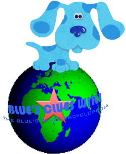 Blues Clues Wiki Earth logo