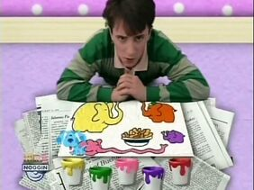 "Blue's Clues Season 1 Episode 1 ""Snack Time"""