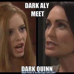 Dark Aly vs. Dark Quinn