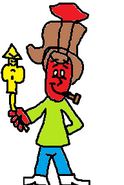 Arthur as Vinny.