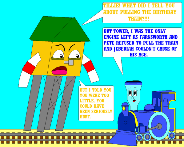 File:Tillie stands up to tower part 1 by linkandrutofan-d5nygu4.png