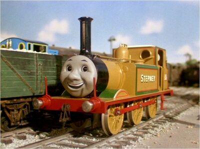 Stepney the Bluebell Engine