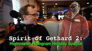 Spirit of Gethard 2 Hintmaster Holiday Hologram Special 0001