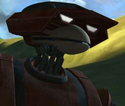 Naboo tactical droid