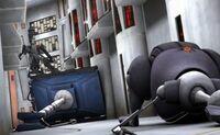 Assasin droid elevator