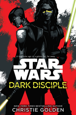 Dark Disciple actual cover