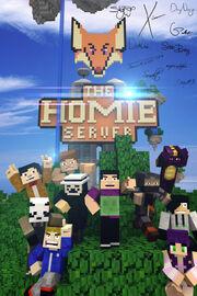 Homie server poster by gberdimuhammedov-d5z1fyn