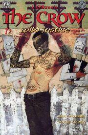 614132-the crow. wild justice no.1 1996 super