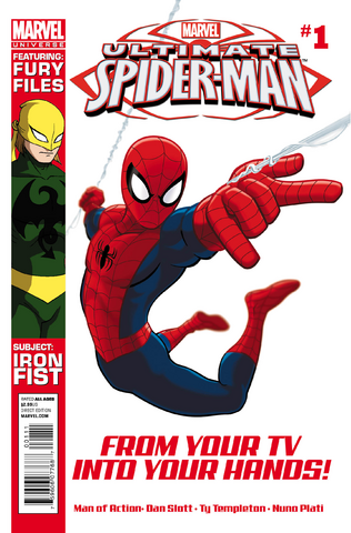 File:MarvelUniverseUltimateSpiderMan 1 Cover.PNG