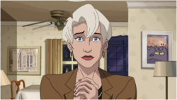 Aunt May face
