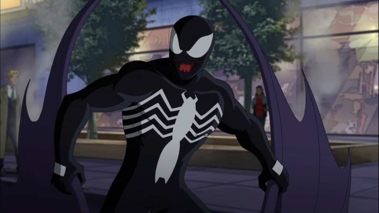 Image - Venom getting in control.png   Ultimate Spider-Man ... - photo#46