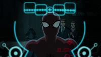 Spider-Man in Iron Man's sight
