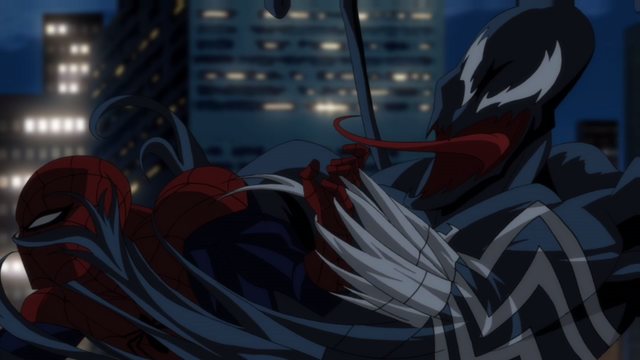 File:Spider-Man fighting off Venom.png