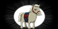 Musty the Mustang