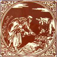 10 - Biblical Scenes - Minton Hollins & Co