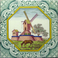 Windmill and Horse