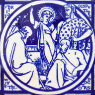 Christ Disputing with the Doctors - J Moyr Smith - Minton China Works