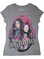 Evie & Mal Girls Graphic Shirt