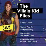 The Villain Kid Files Jay