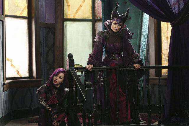 File:Mal-and-Maleficent.JPG