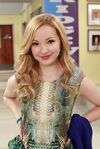 Dove on the set of Liv and Maddie