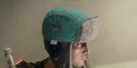 Blue Trapper Hat