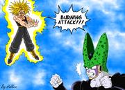 Trunks VS Cell