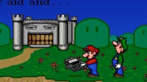 Mario Teaches Typing (CD Version) - Ending