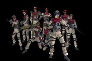 EDF soldiers