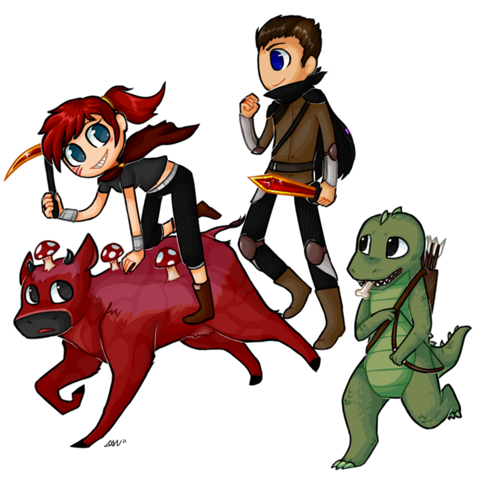 File:480px-Yogscast zoey rythian and teep by dan neko97-d5jcth2.png