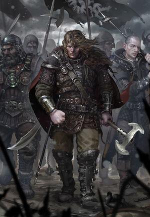 640x926 9886 Vanguard 2d fantasy warriors army medieval picture image digital art-1-