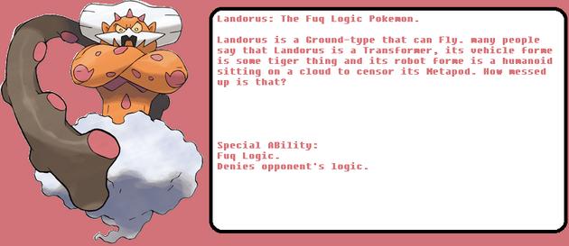 Landorus randomified Dex