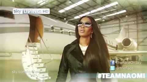 The Face UK Meet Naomi Campbell