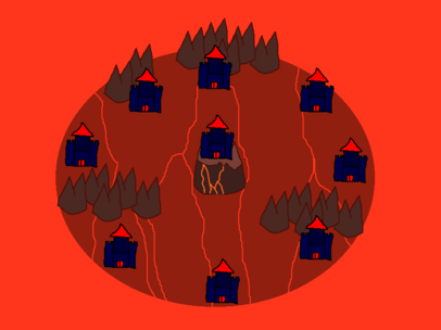 Terrifiregee Domain Map