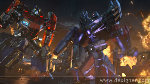 Transformers Fall of Cybertron Video Game Teaser 02