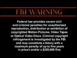 Image Entertainment FBI Warning 1d
