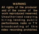 PolyGram Video Warning Screen