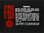 Guild Home Video Piracy Warning (1993) Hologram