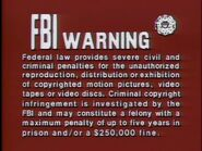 20th Century FOX FBI Warning Screen 2