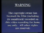 CIC Video Warning (1992) (Variant 2) (S1)