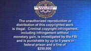 Walt Disney Warning Screen 2005-2007 VHS Version