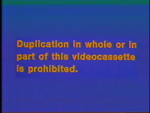 CBS-FOX Video Australian Piracy Warning (1989) Beta hologram