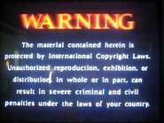 Simitar Entertainment Warning Screen Early Variant 2 (1990-2000)