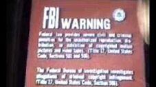 Fox Video FBI Warning Screen (Early 1980s)