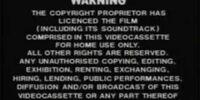 Palace Video Warning