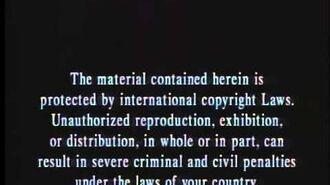 Simitar Entertainment Inc. Warning Screen 1990-2000